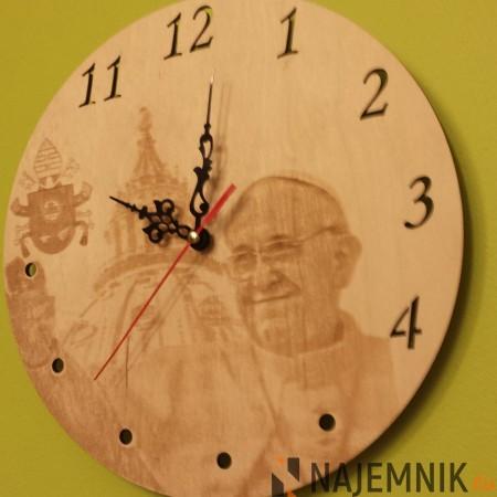 Zegar - papież Franciszek