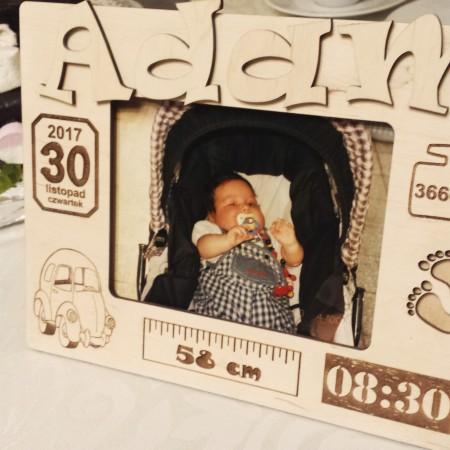 Ramka na zdjęcie niemowlaka